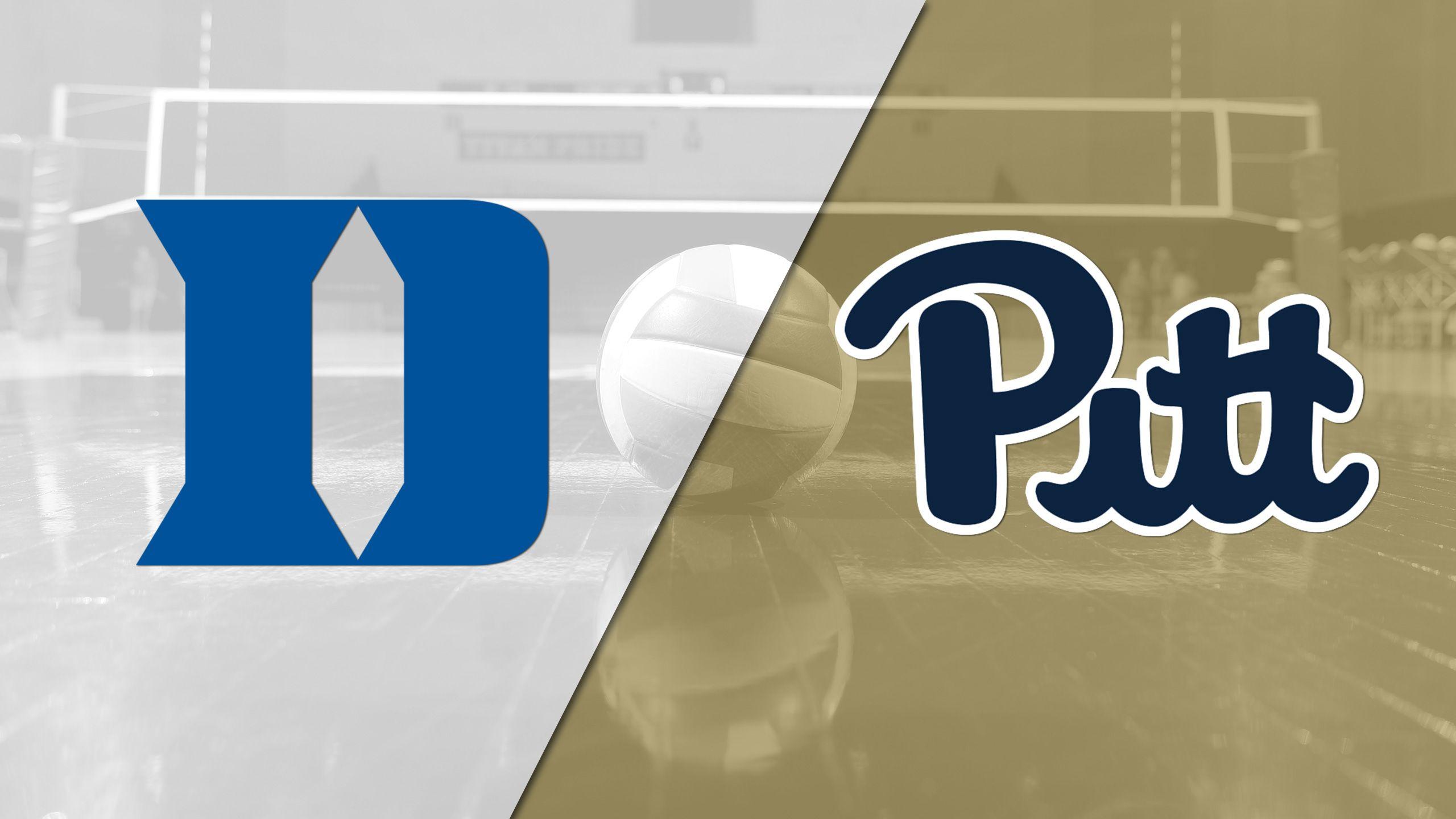 Duke vs. Pittsburgh (W Volleyball)
