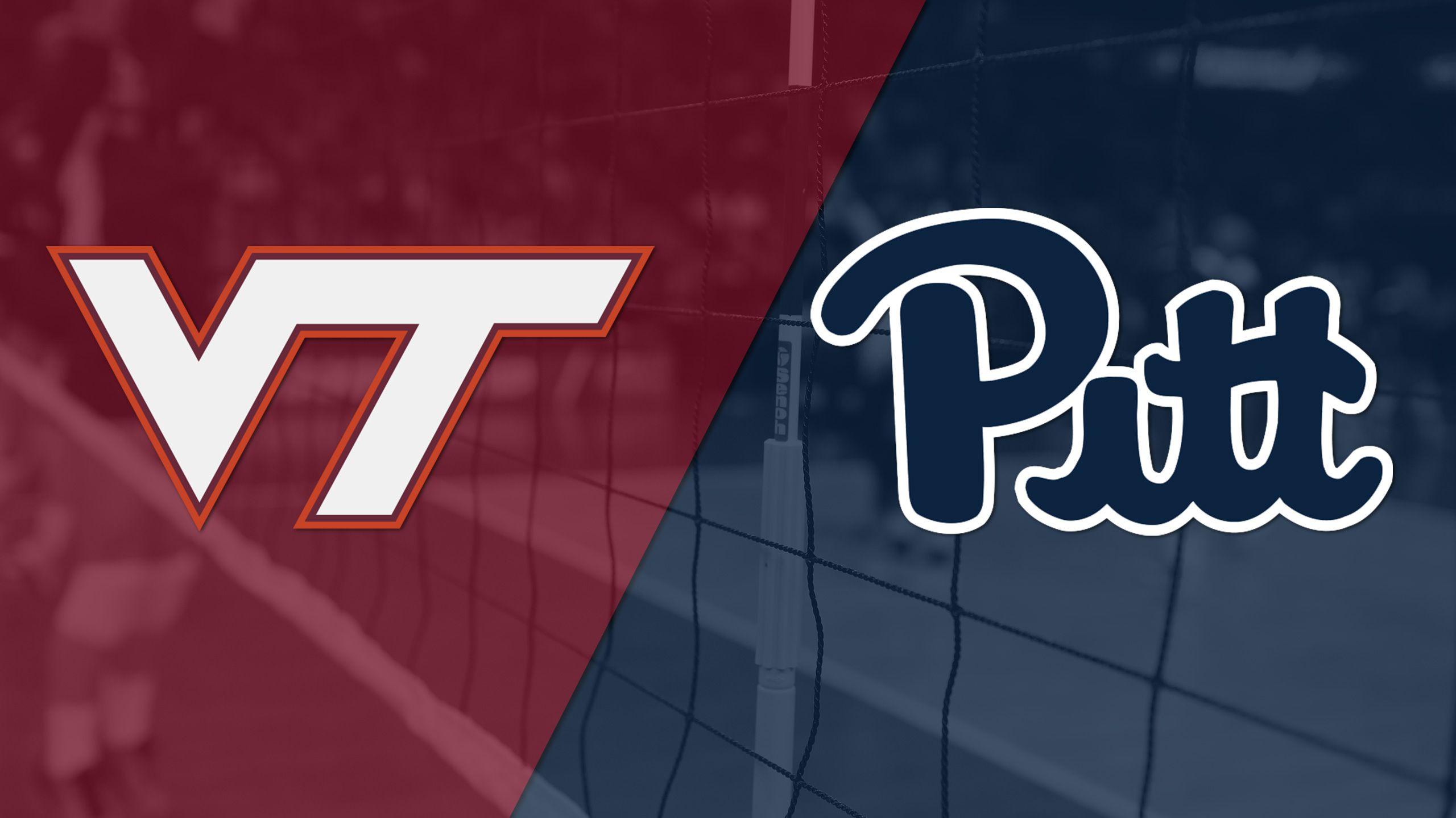 Virginia Tech vs. Pittsburgh (W Volleyball)