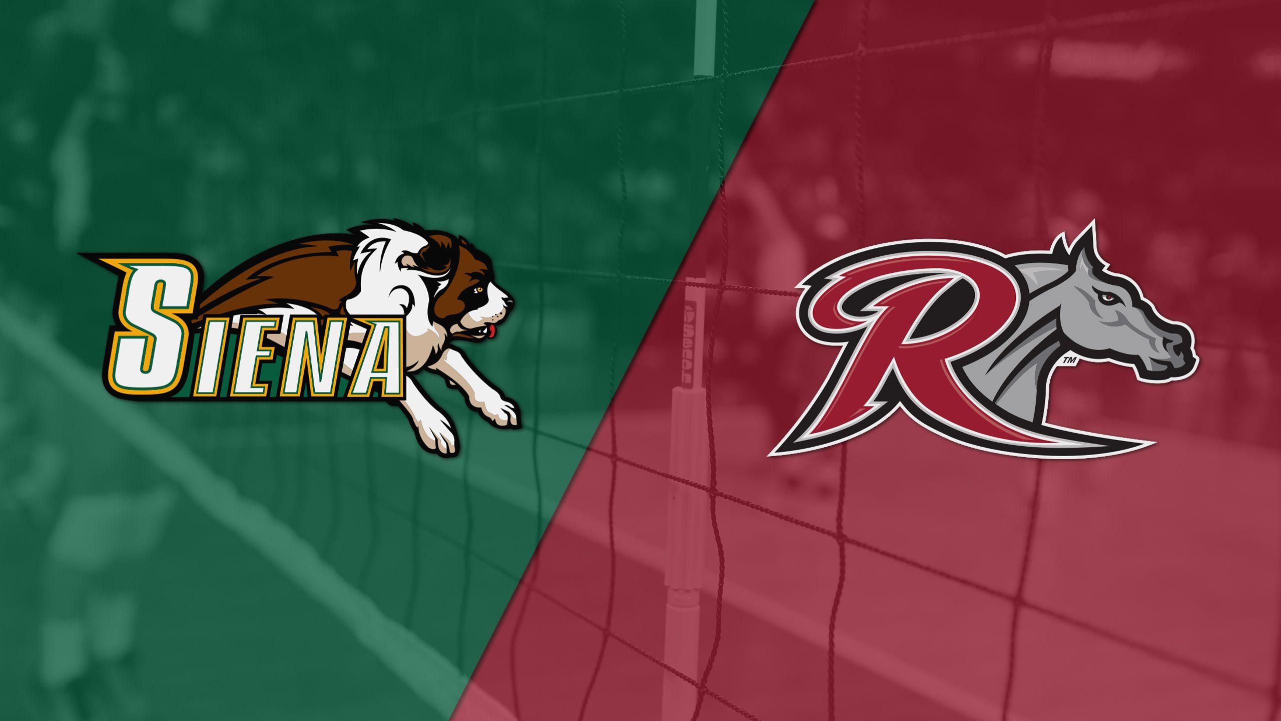 Siena vs. Rider (First Round) (MAAC Women's Volleyball Championship)
