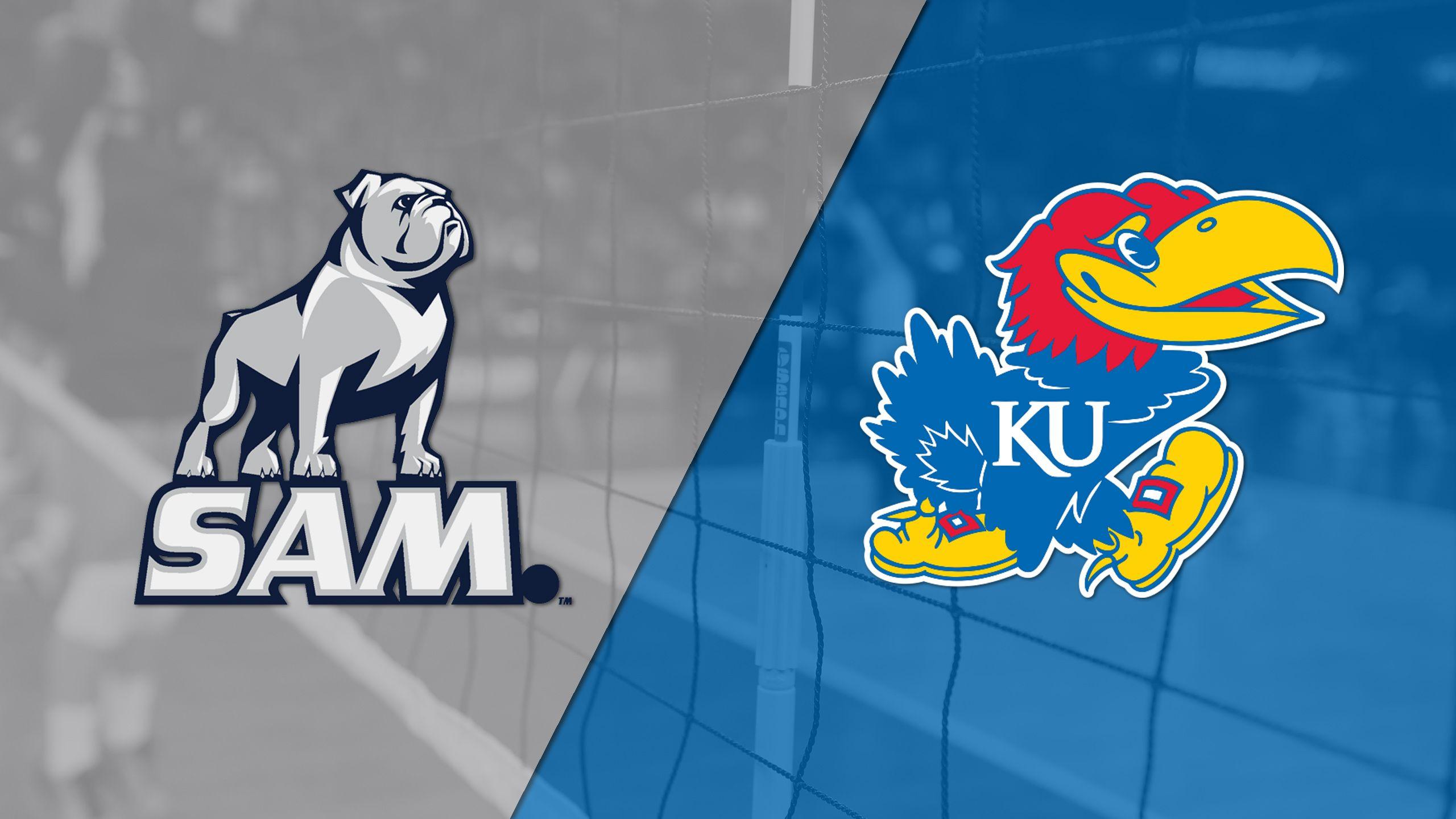 Samford vs. Kansas (First Round) (NCAA Volleyball Championship)