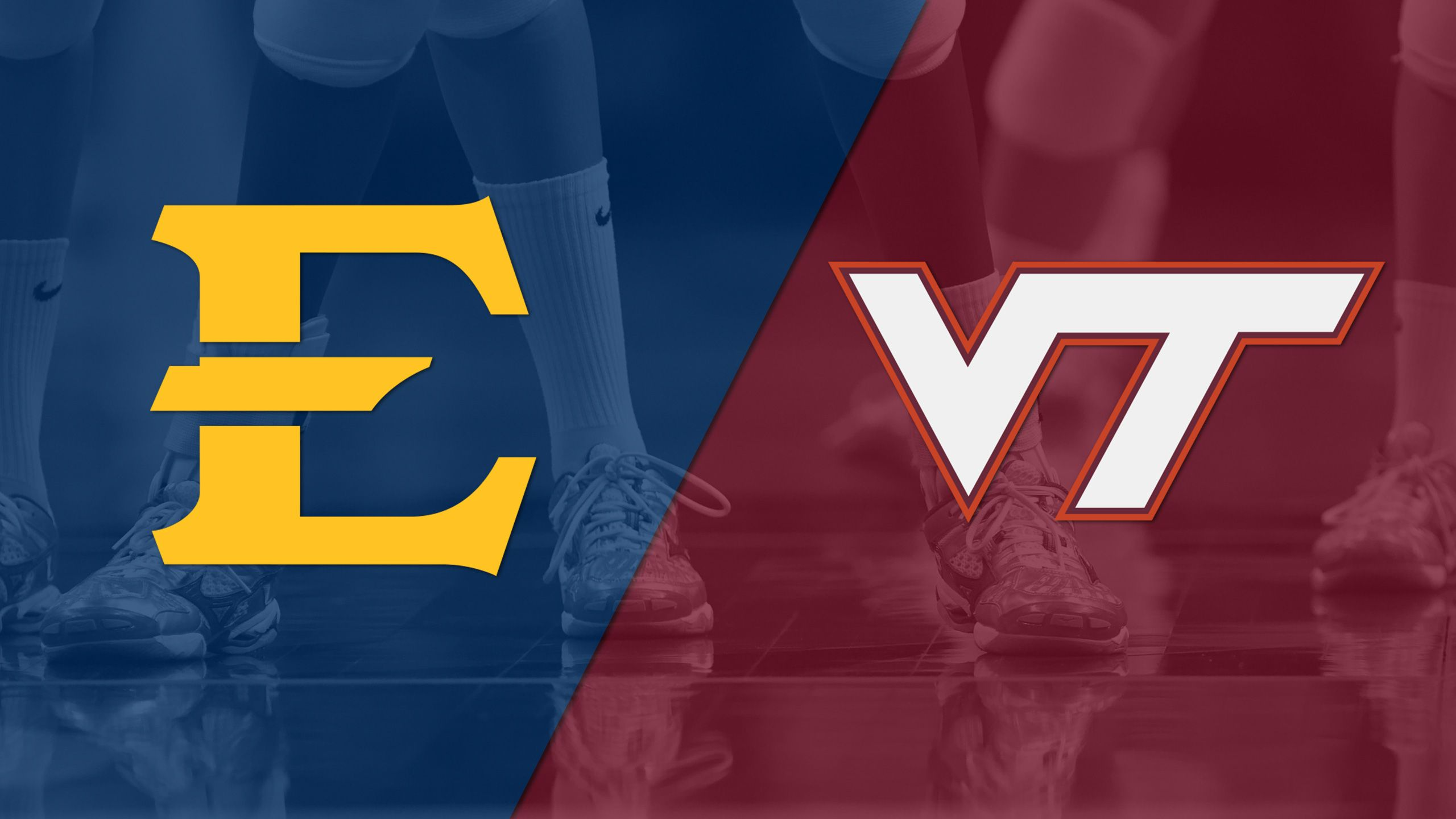 East Tennessee State vs. Virginia Tech (W Volleyball)