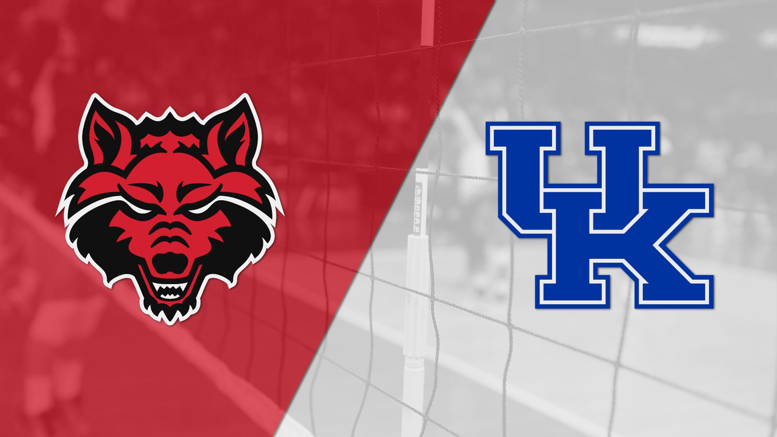 Arkansas State vs. #14 Kentucky (W Volleyball)