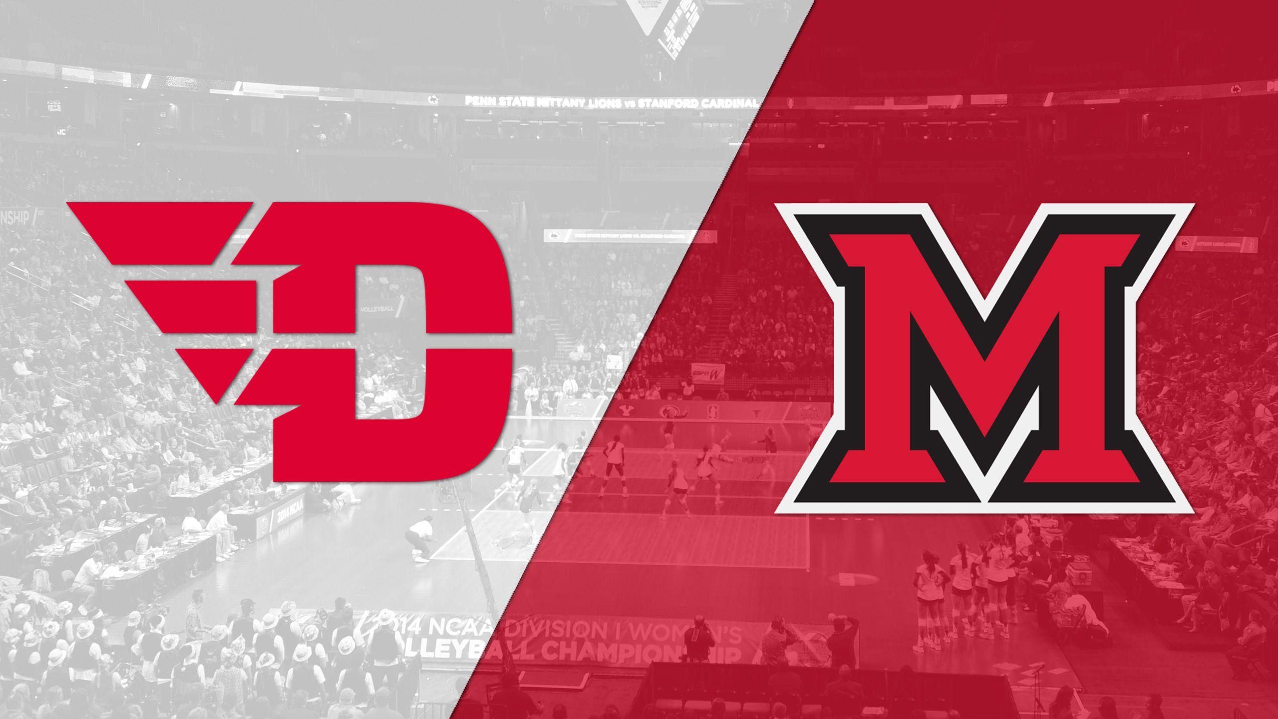 Dayton vs. Miami (OH) (W Volleyball)