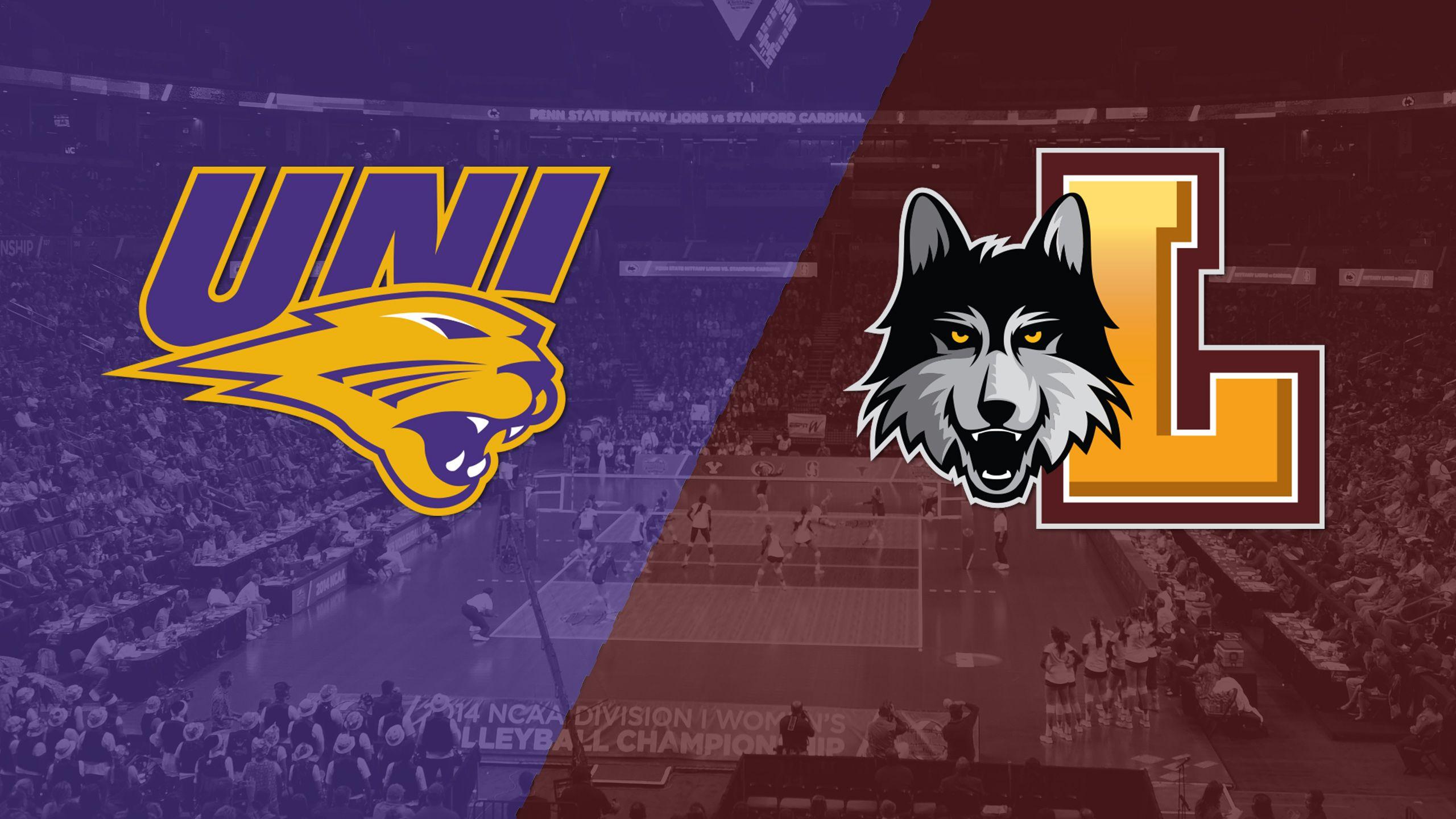 #22 Northern Iowa vs. Loyola-Chicago (W Volleyball)