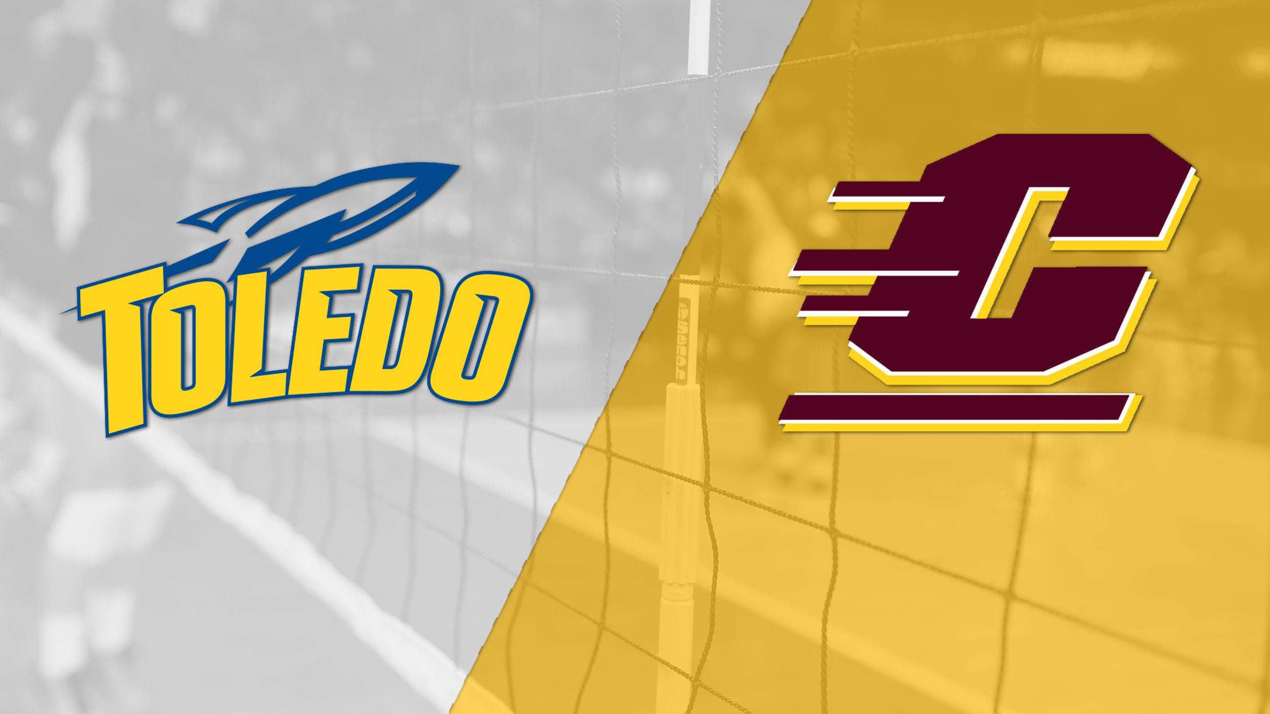 Toledo vs. Central Michigan (W Volleyball)