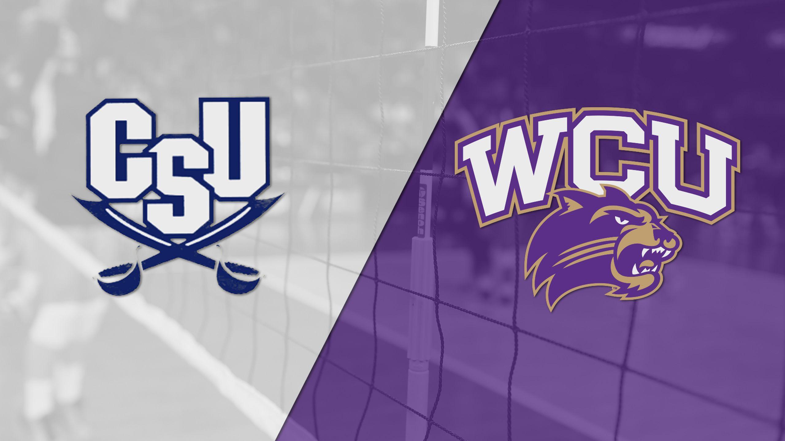 Charleston Southern vs. Western Carolina (W Volleyball)