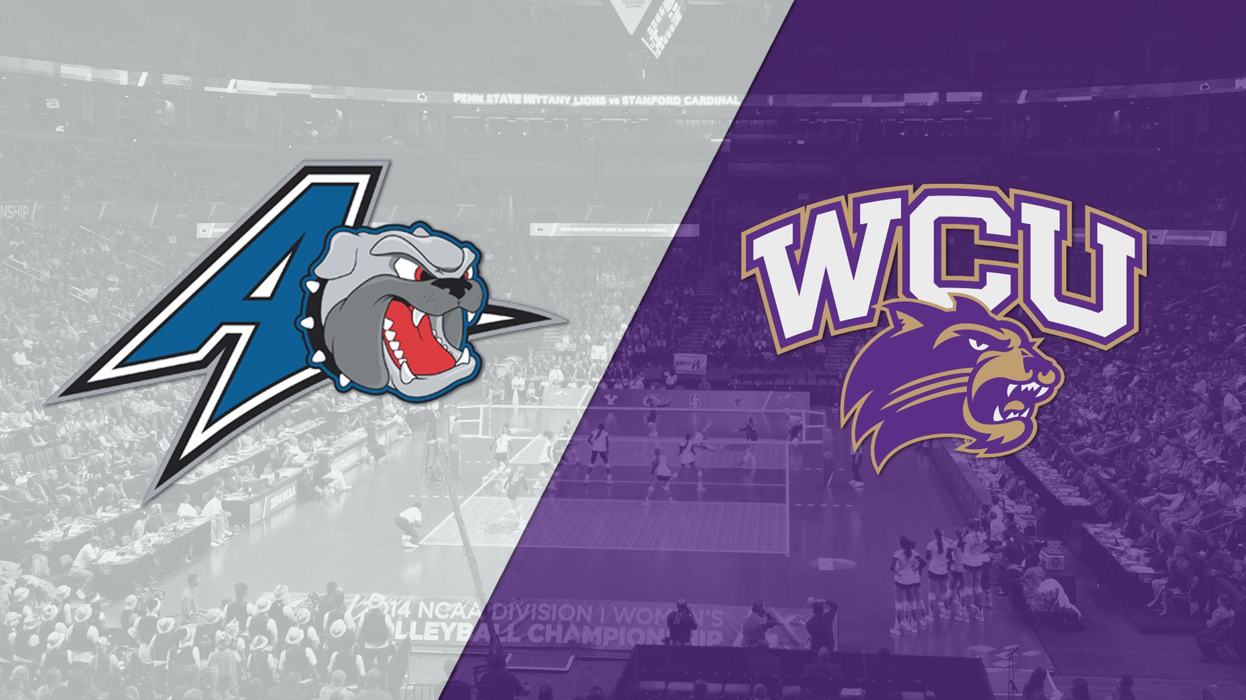 UNC-Asheville vs. Western Carolina (W Volleyball)