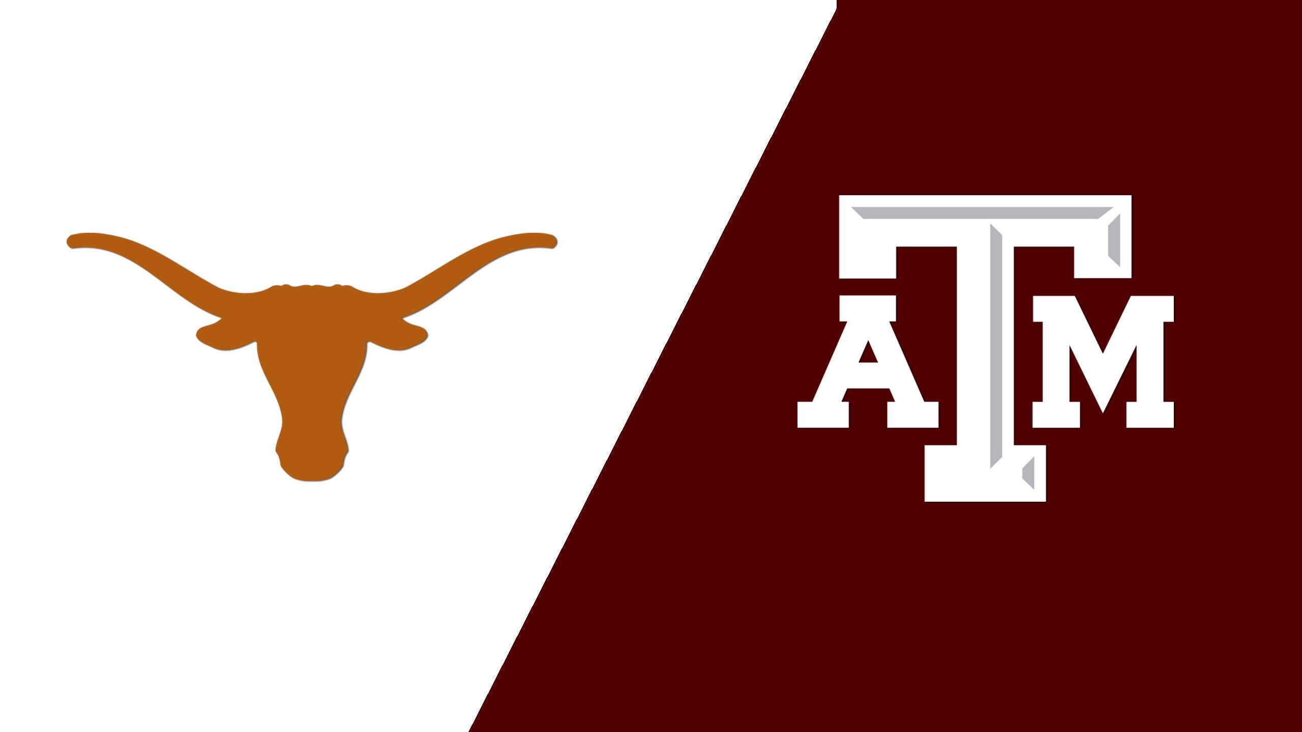 #6 Texas vs. Texas A&M (W Volleyball) (re-air)
