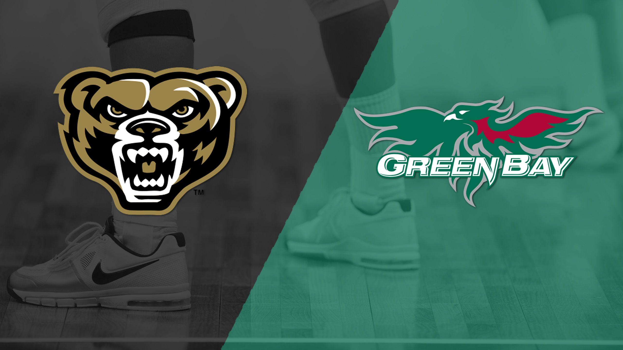 Oakland vs. Green Bay (W Volleyball)