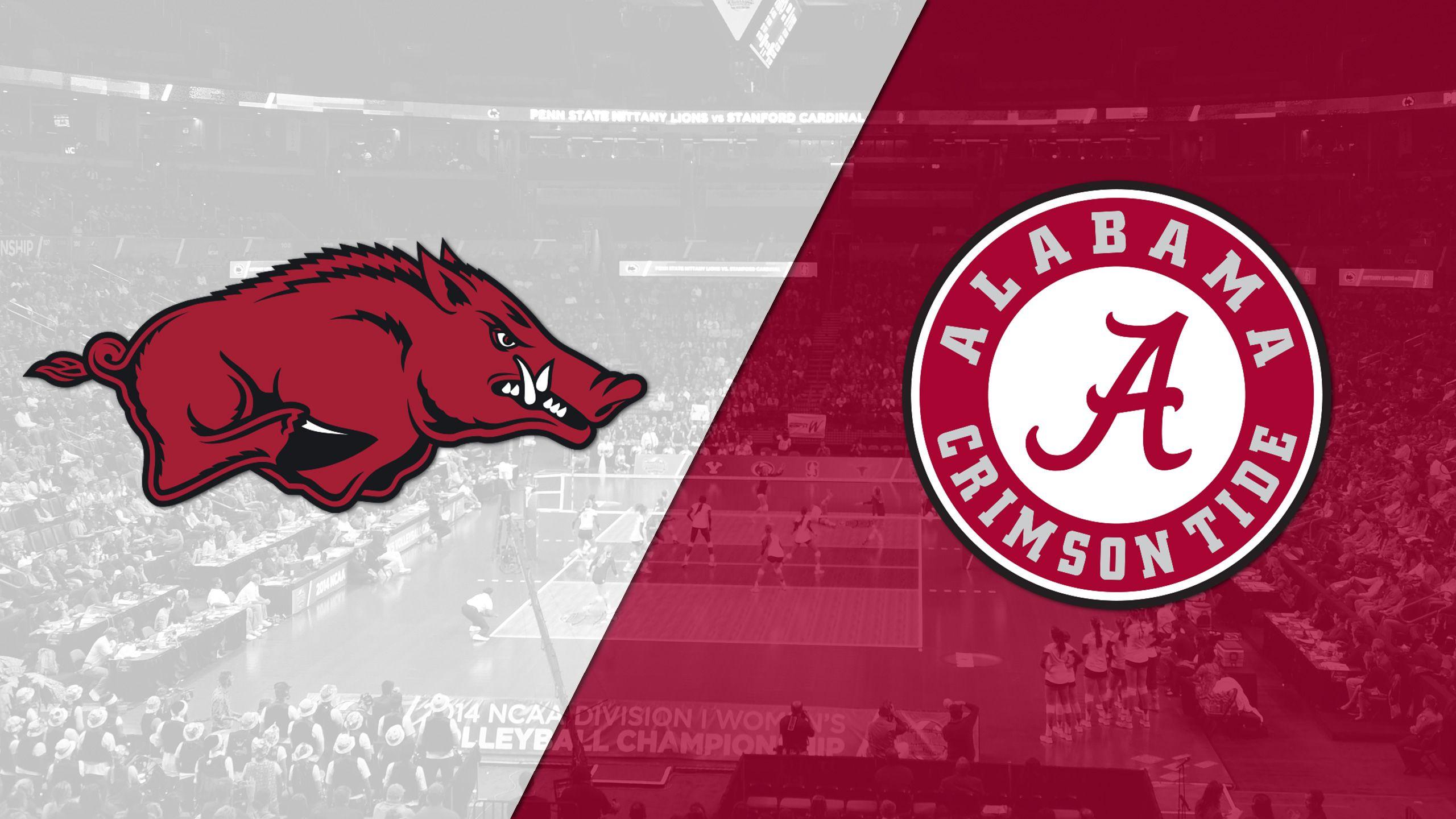 Arkansas vs. Alabama (W Volleyball)