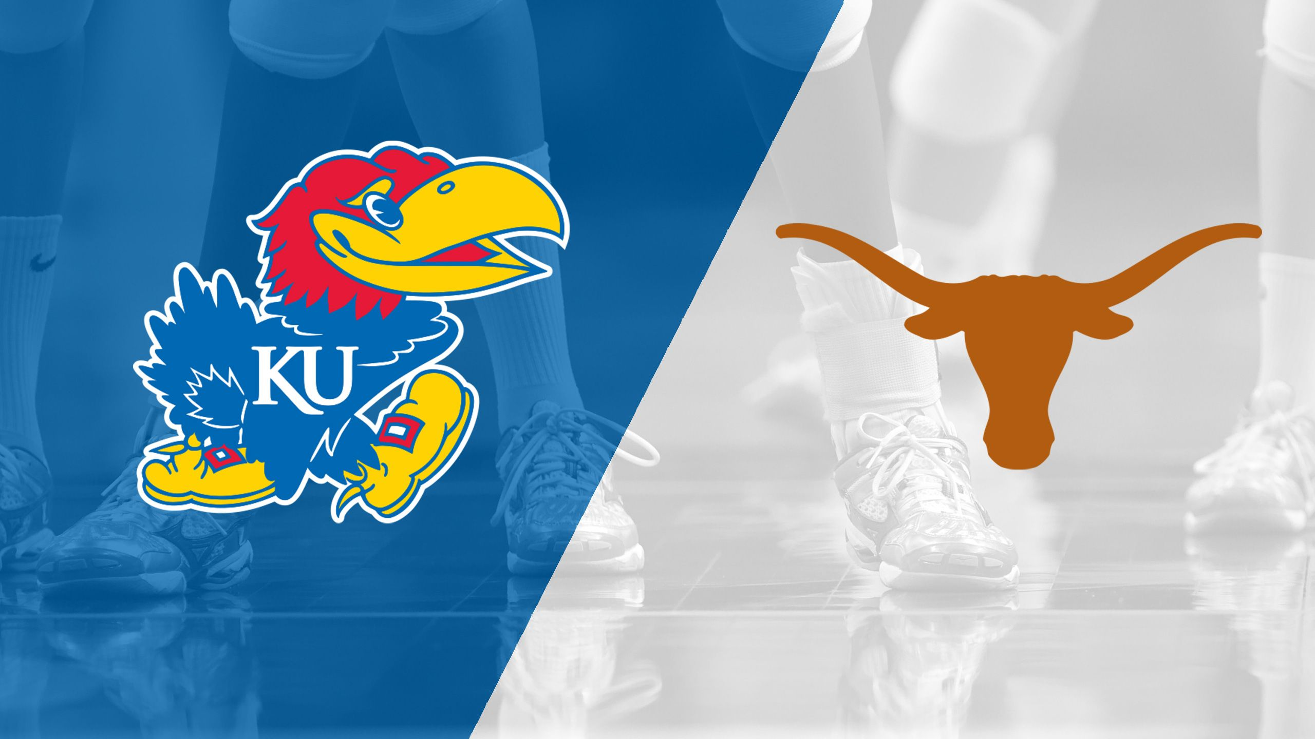 #16 Kansas vs. #2 Texas (W Volleyball) (re-air)