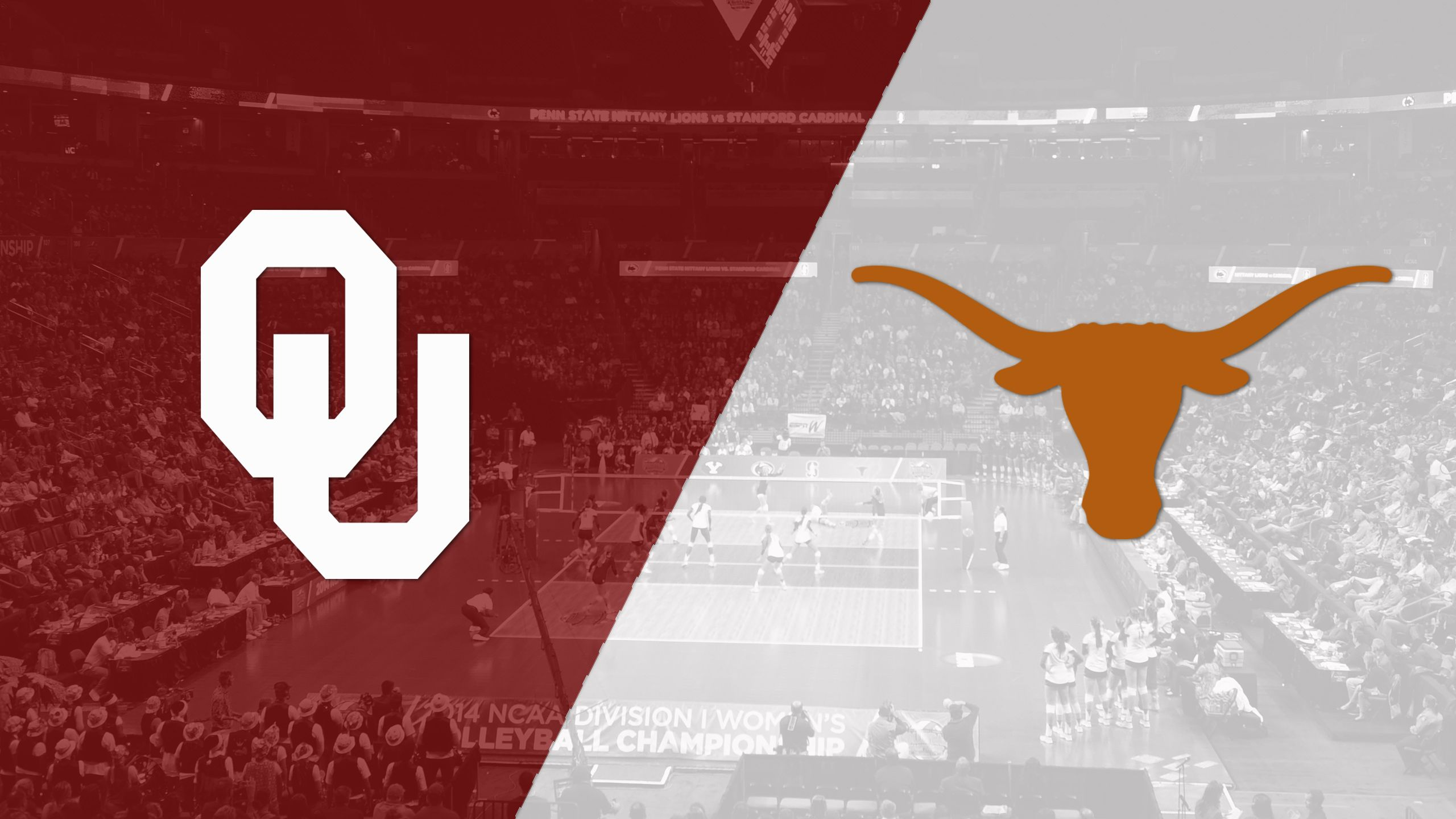 Oklahoma vs. #2 Texas (W Volleyball) (re-air)