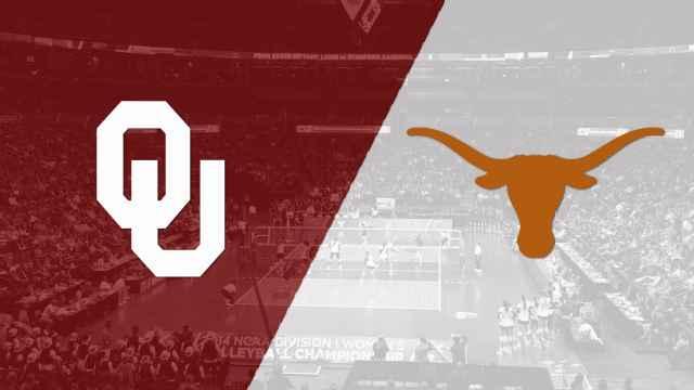 Oklahoma Vs 2 Texas W Volleyball Re Air