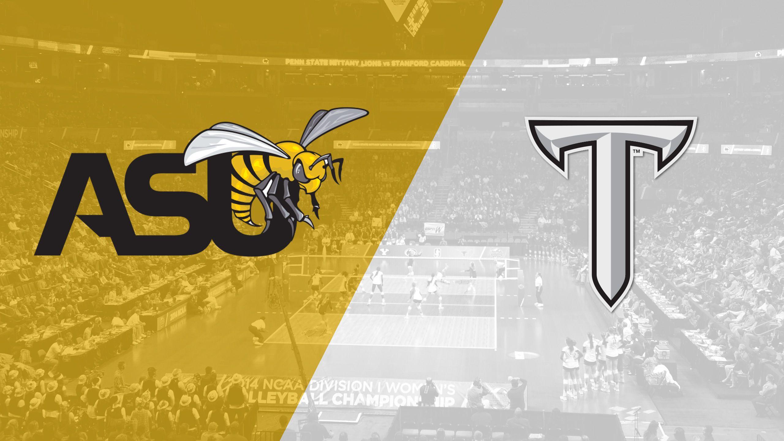 Alabama State vs. Troy (W Volleyball)