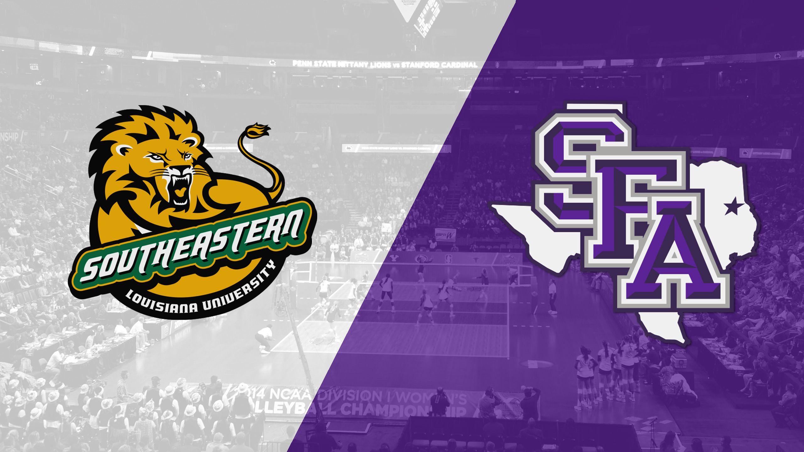 SE Louisiana vs. Stephen F. Austin (W Volleyball)