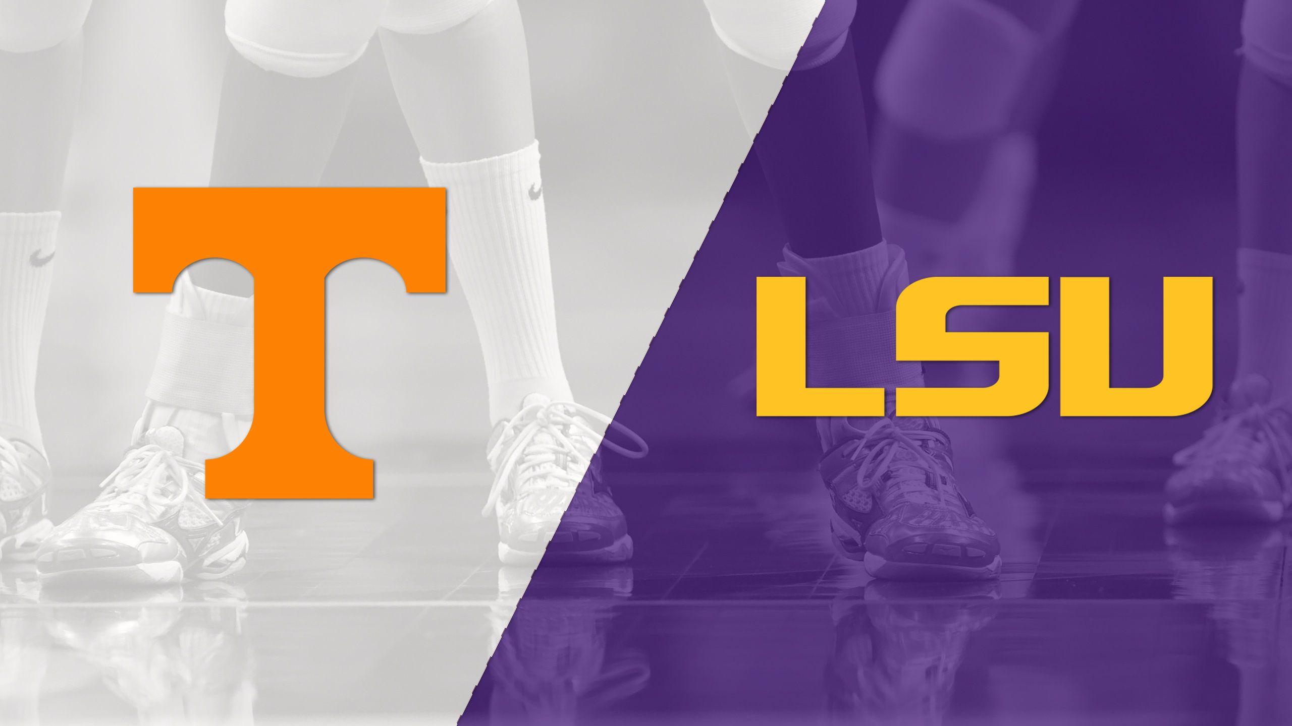Tennessee vs. LSU (W Volleyball)