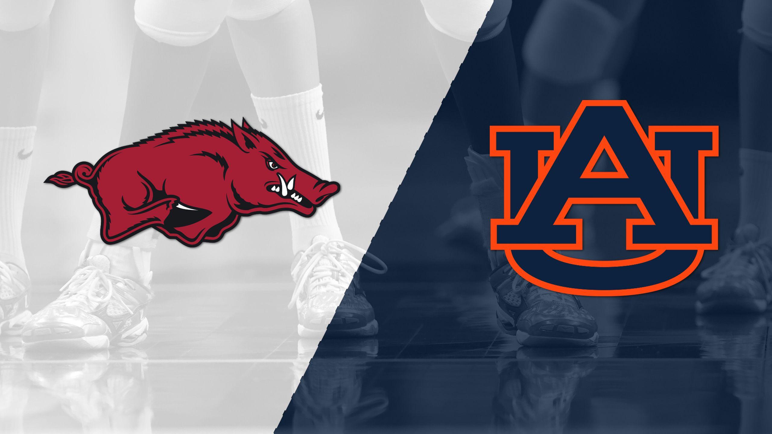Arkansas vs. Auburn (W Volleyball)