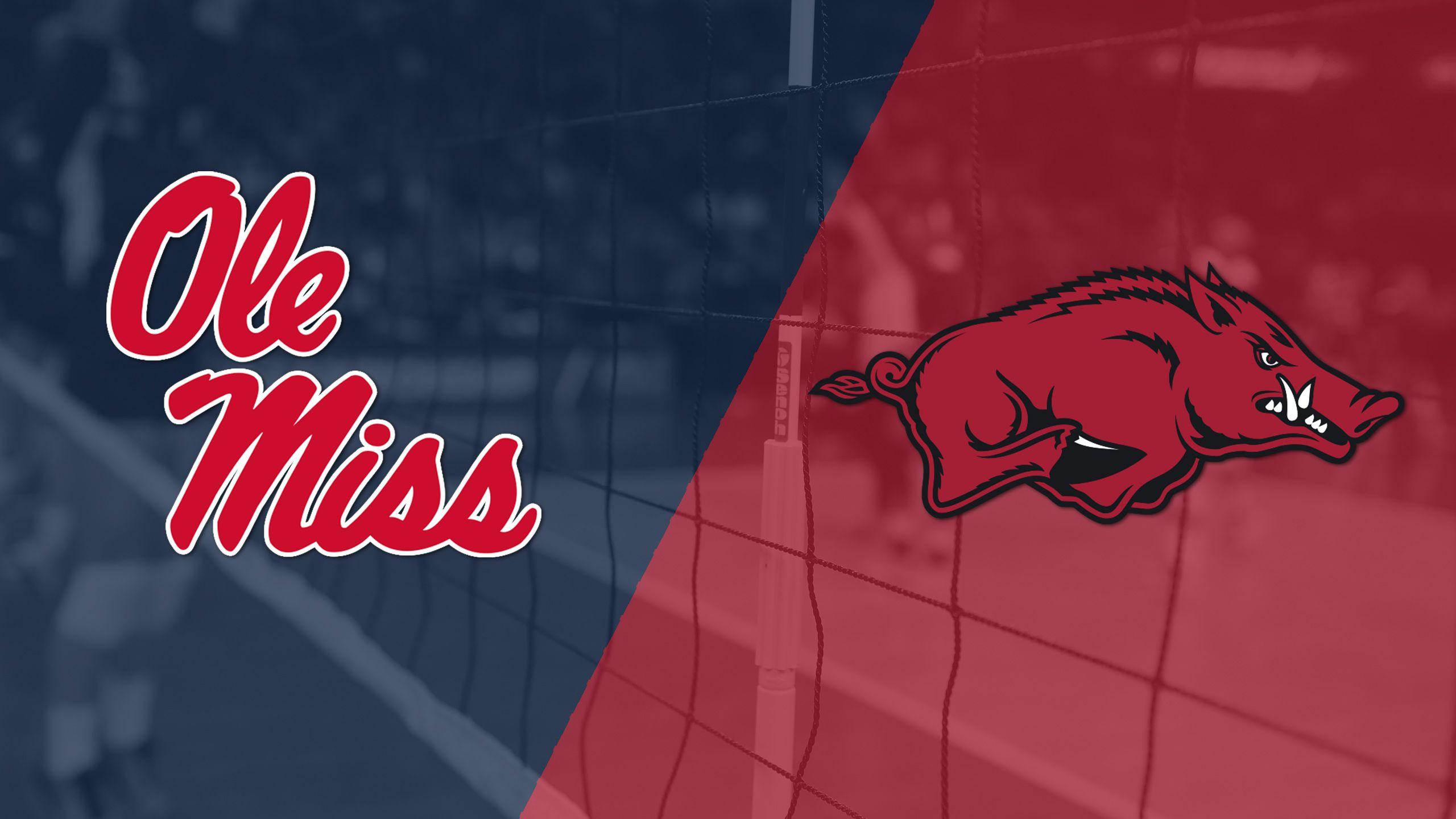 Ole Miss vs. Arkansas (W Volleyball)