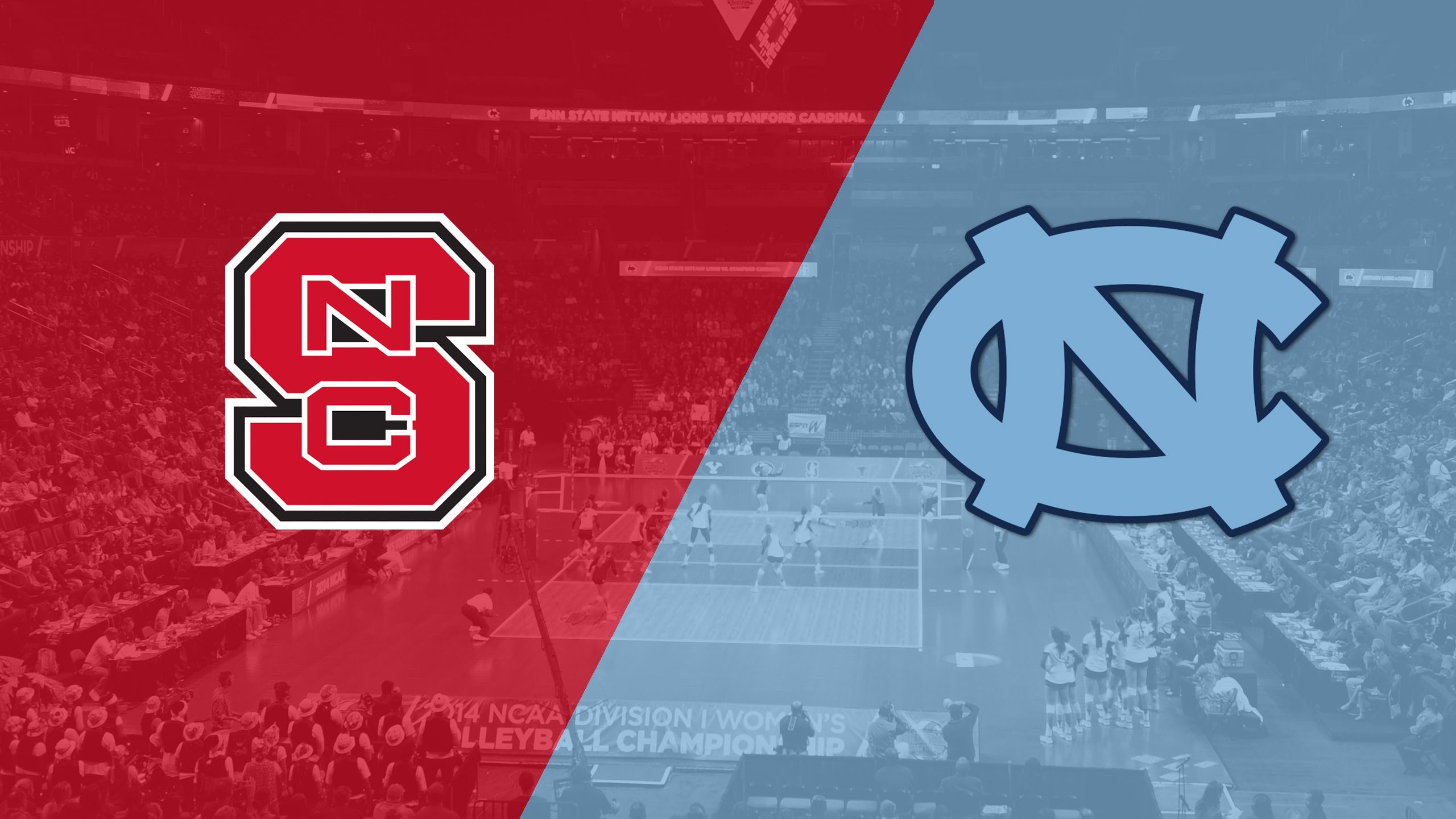 NC State vs. North Carolina (W Volleyball)