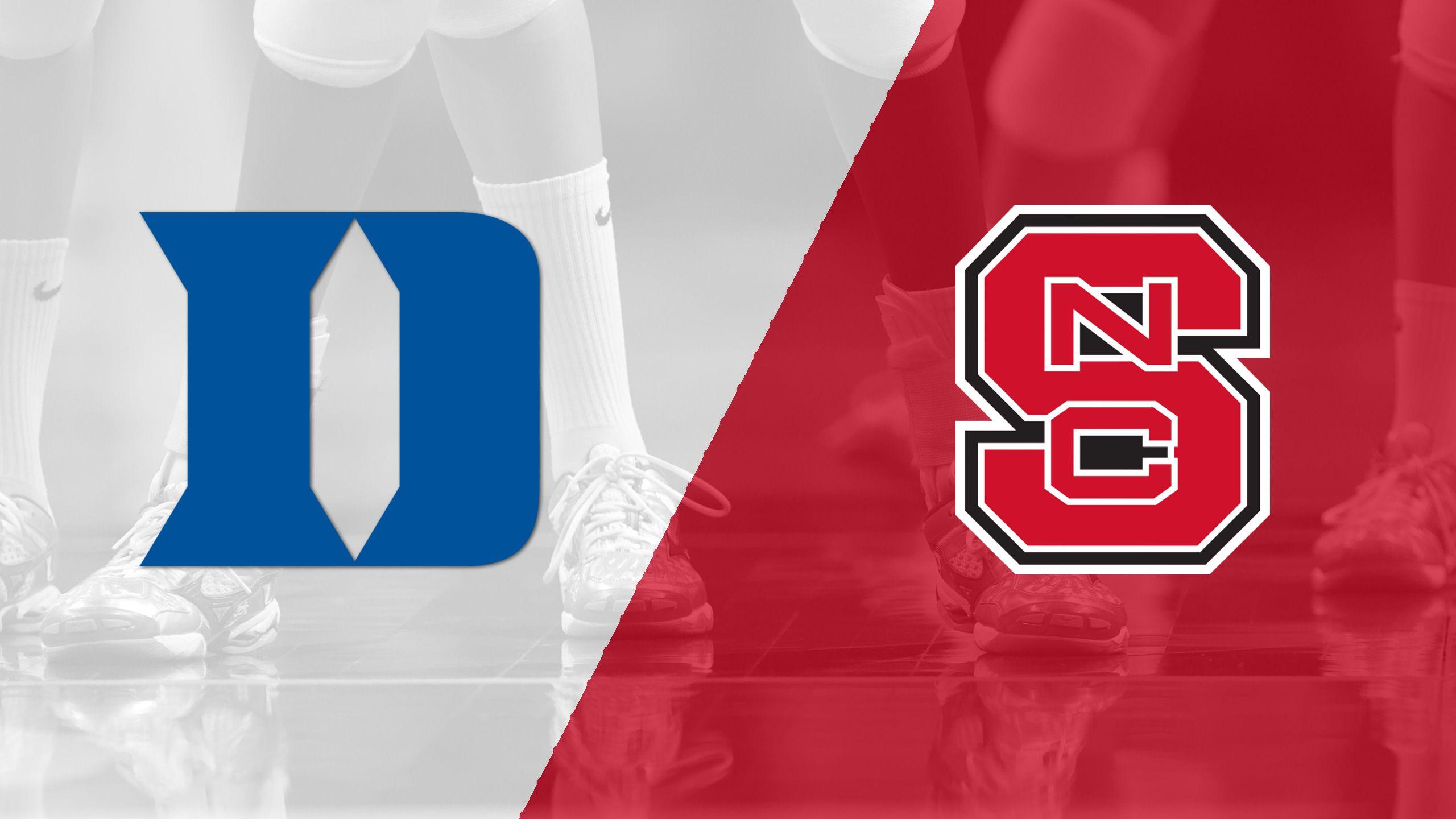 Duke vs. NC State (W Volleyball)