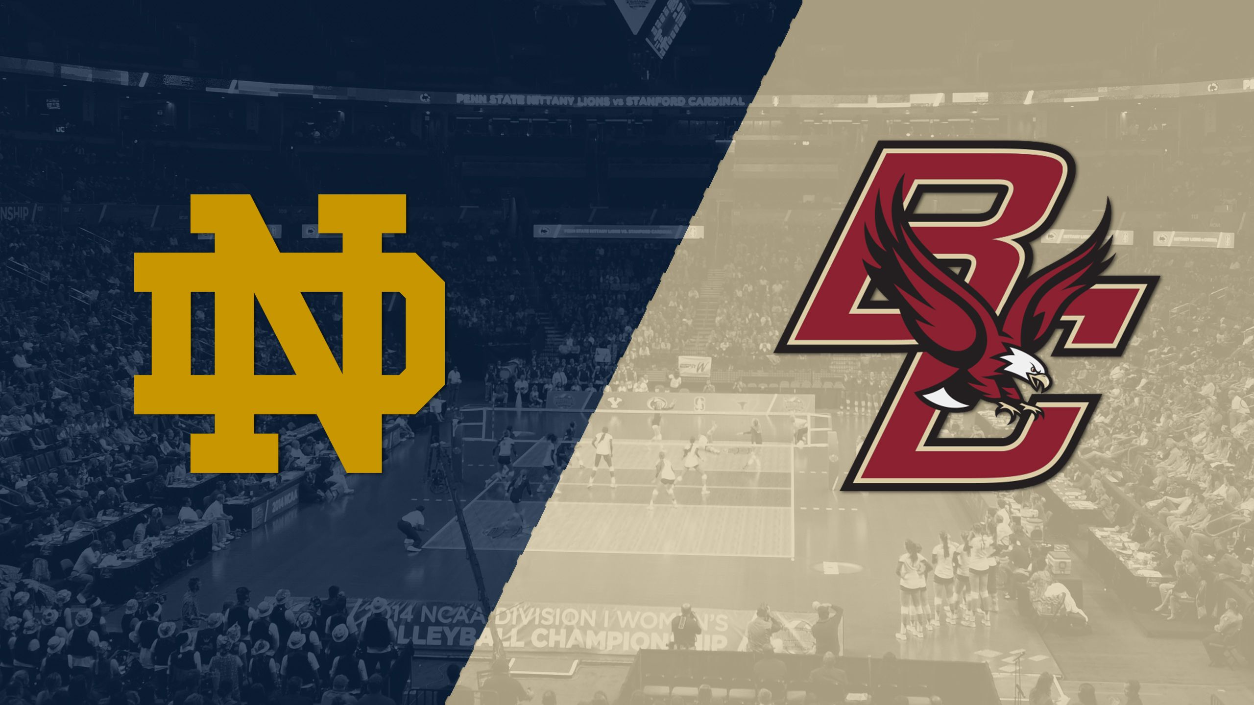 Notre Dame vs. Boston College (W Volleyball)