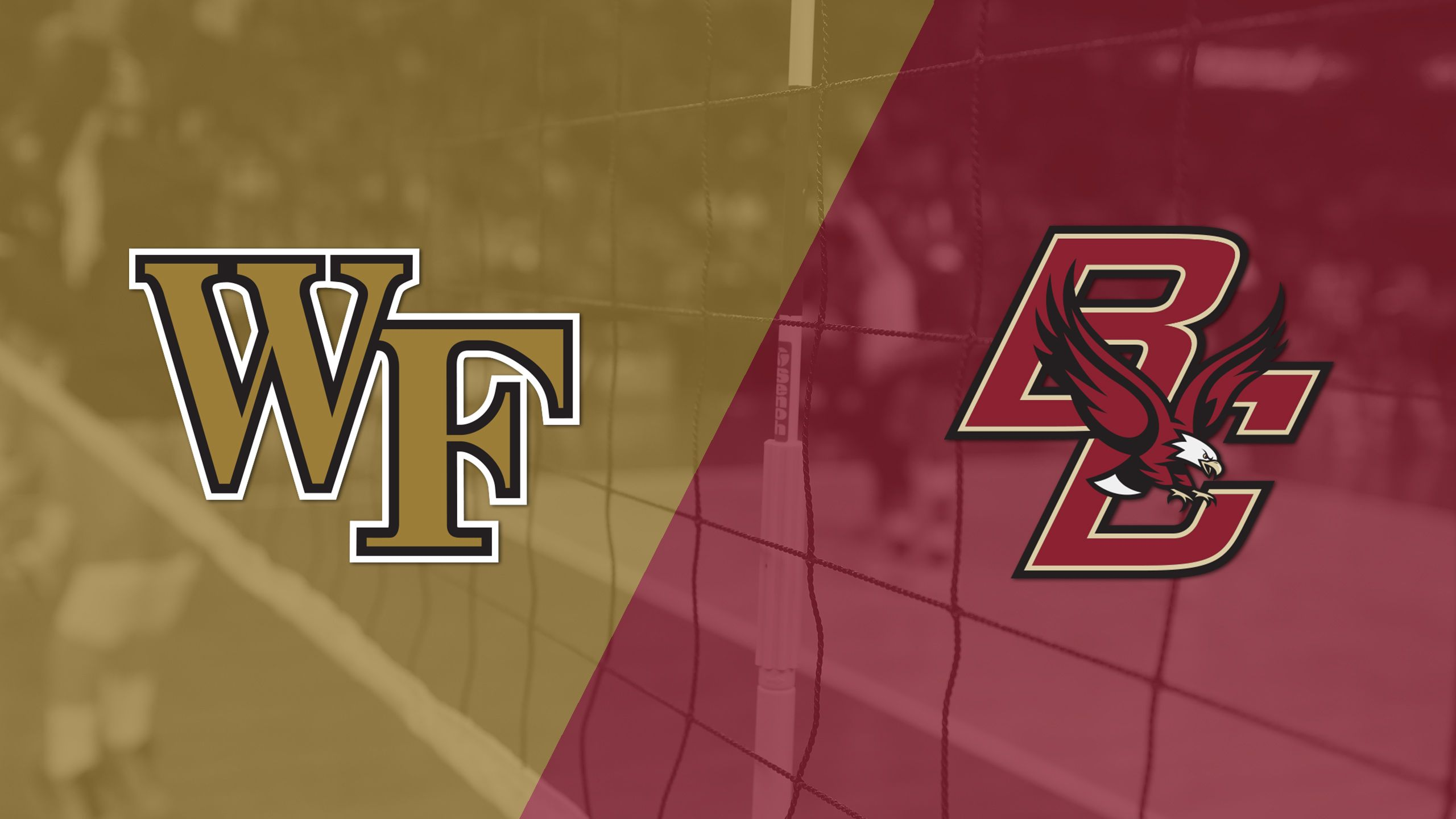 Wake Forest vs. Boston College (W Volleyball)