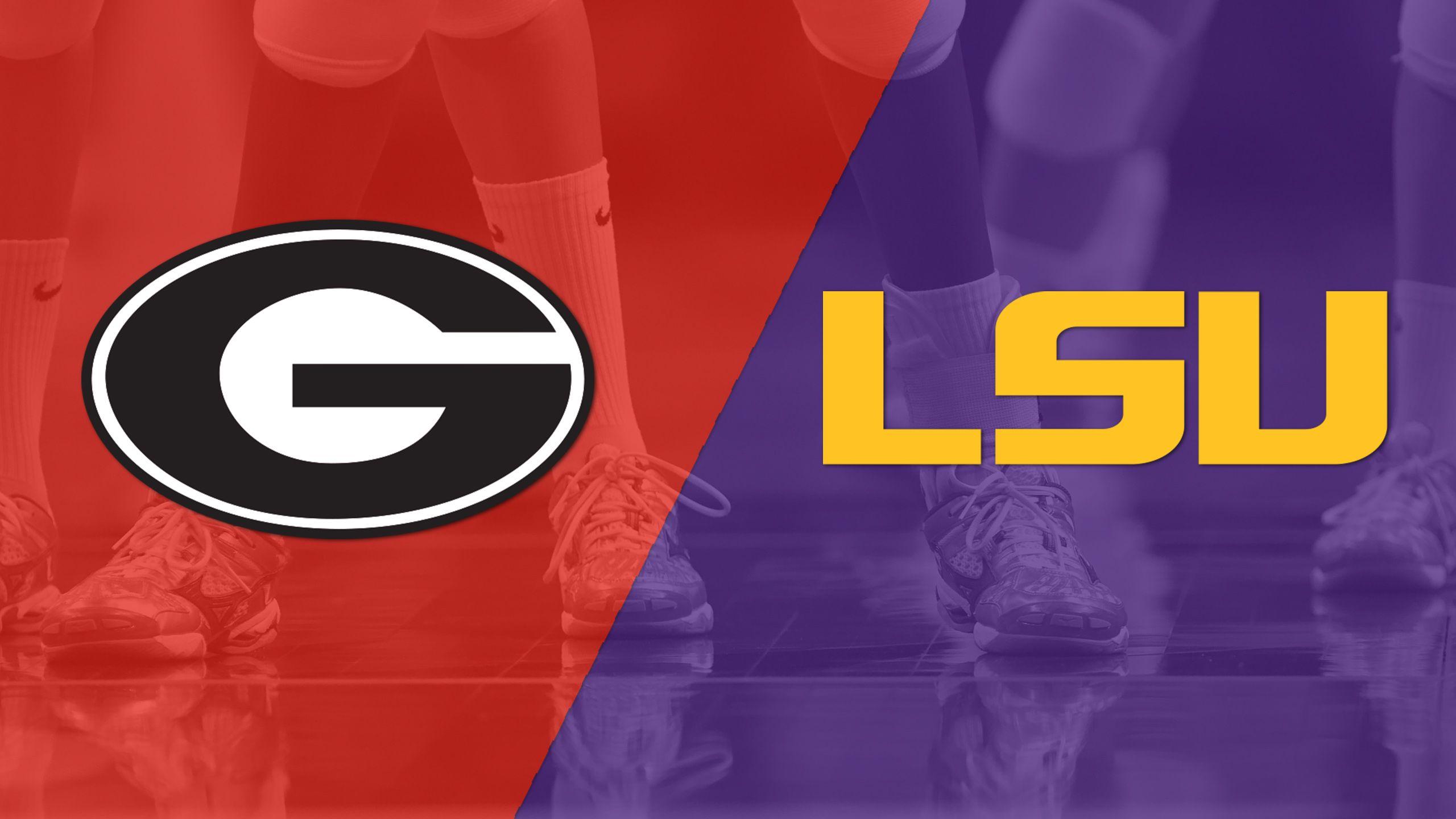 Georgia vs. LSU (W Volleyball)