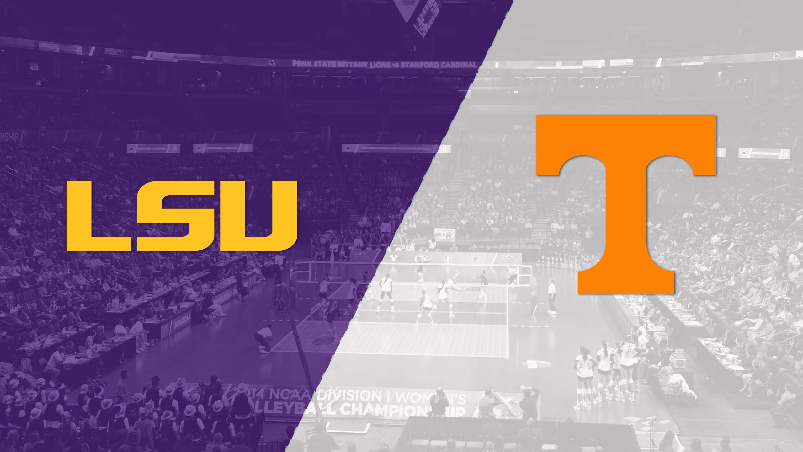 LSU vs. Tennessee (W Volleyball)
