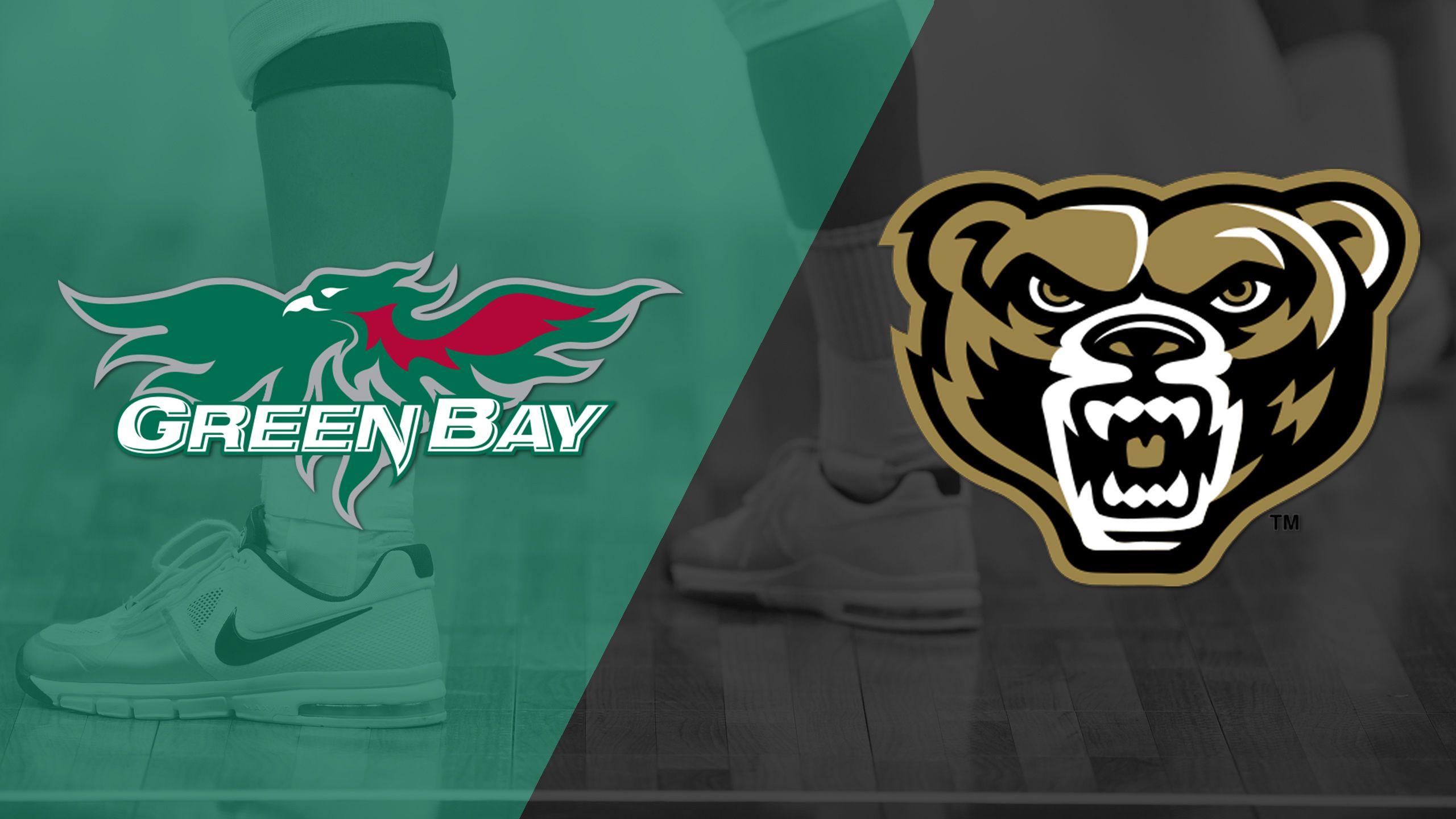 Green Bay vs. Oakland (Semifinal) (Horizon League Women's Volleyball Championship)