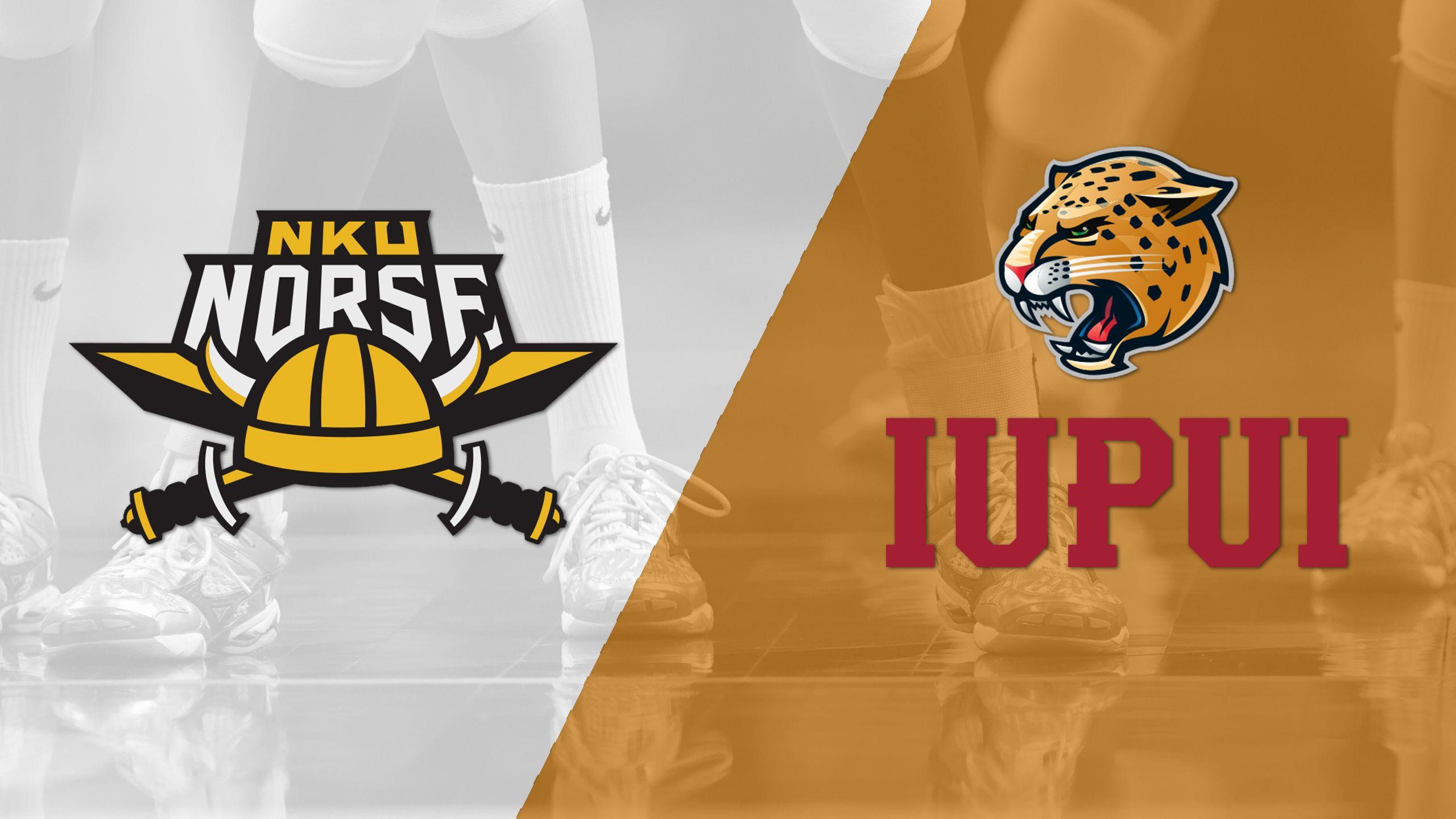 Northern Kentucky vs. IUPUI (First Round) (Horizon Women's Volleyball Championship)