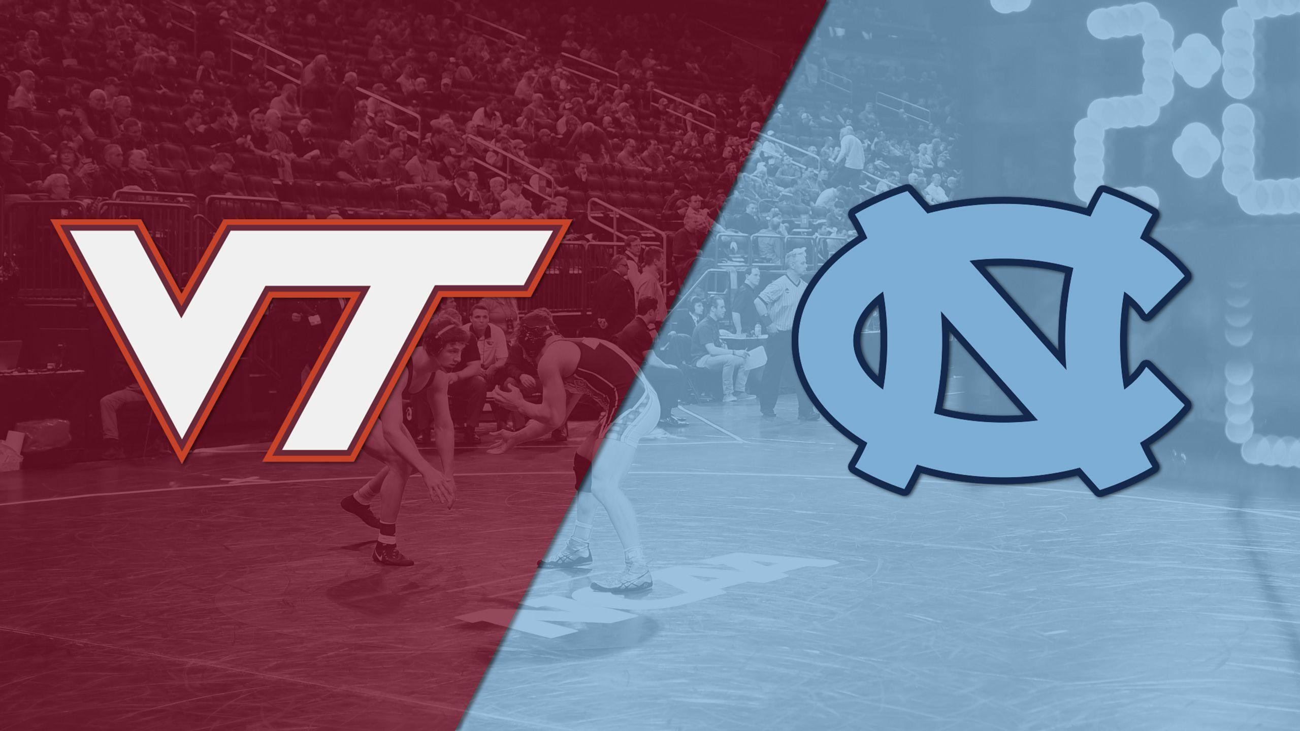 Virginia Tech vs. North Carolina (Wrestling)