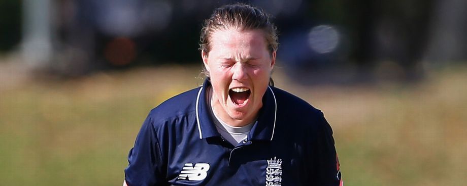 During England's second warm-up match against India A on March 20 in Mumbai, Shrubsole fell awkwardly on her right shoulder while taking a catch and sustained a minor sprain