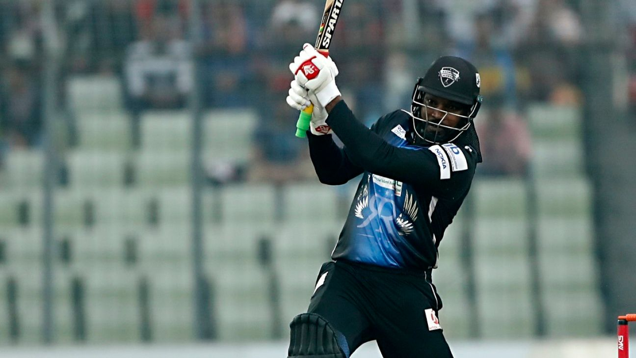 Gayle's record 146* carries Rangpur to maiden title