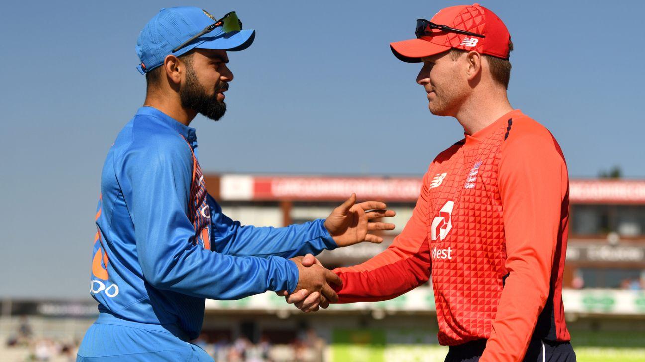 Live report - England v India