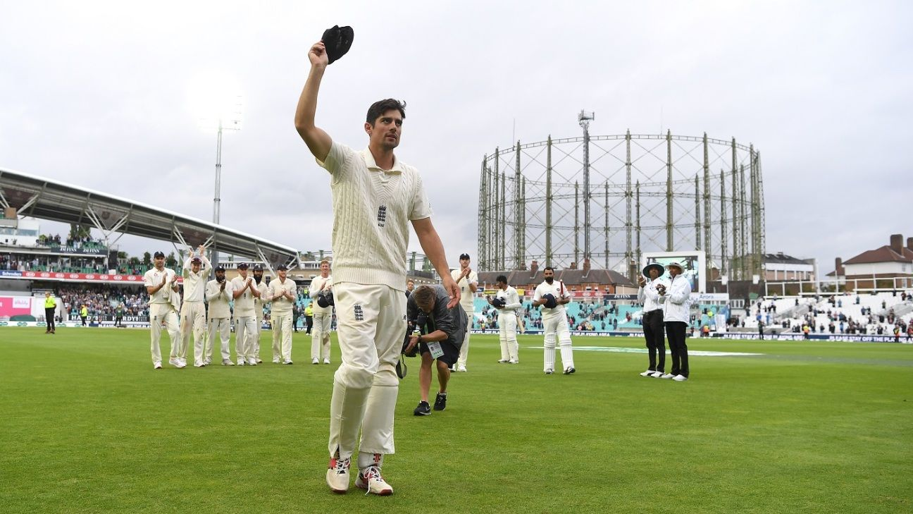 Alastair Cook trumpeted as England's next cricketing knight - ESPNcricinfo