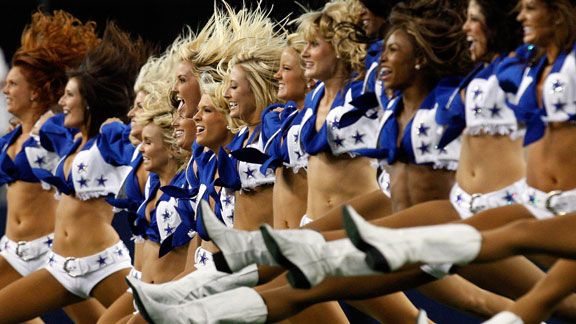 Dallas cowboys cheerleader dating nfl player