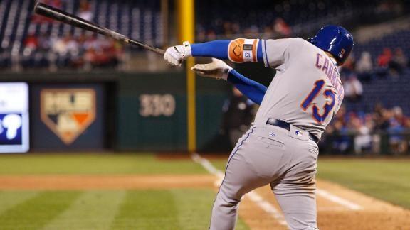Asdrúbal Cabrera dio la cara por los Mets - ESPN Video