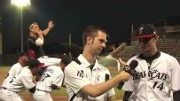 Baseball Team Videobombs Postgame Interviews