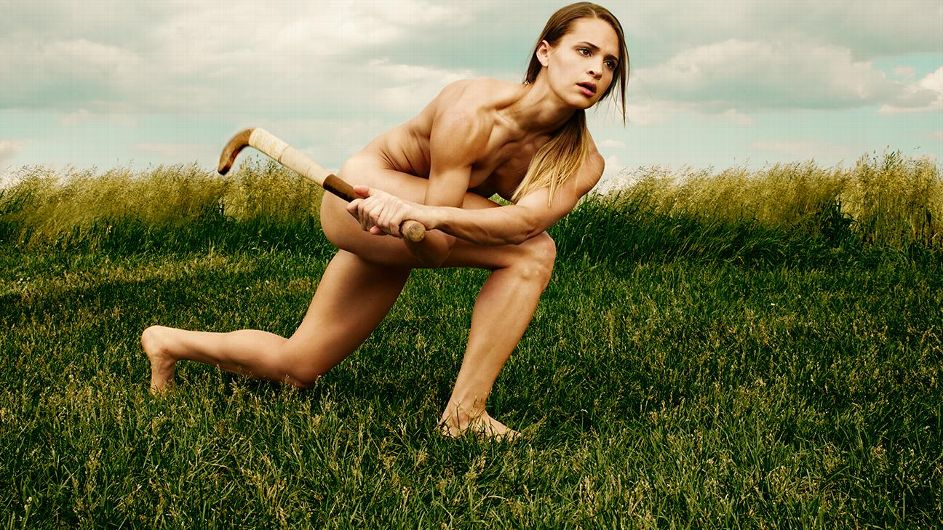 Ali krieger espn body issue behind the scenes 6