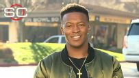 Thomas: Dream come true to have mother at Super Bowl