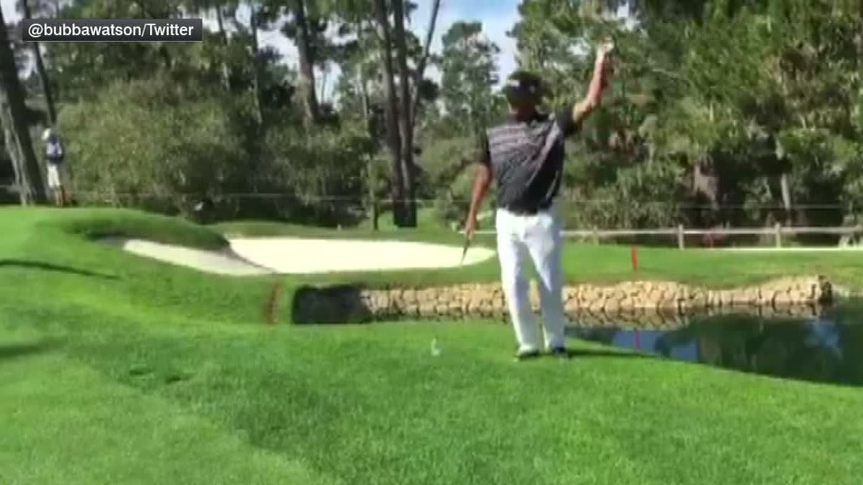 Watson doesnt need a putter to make this shot - ESPN Video