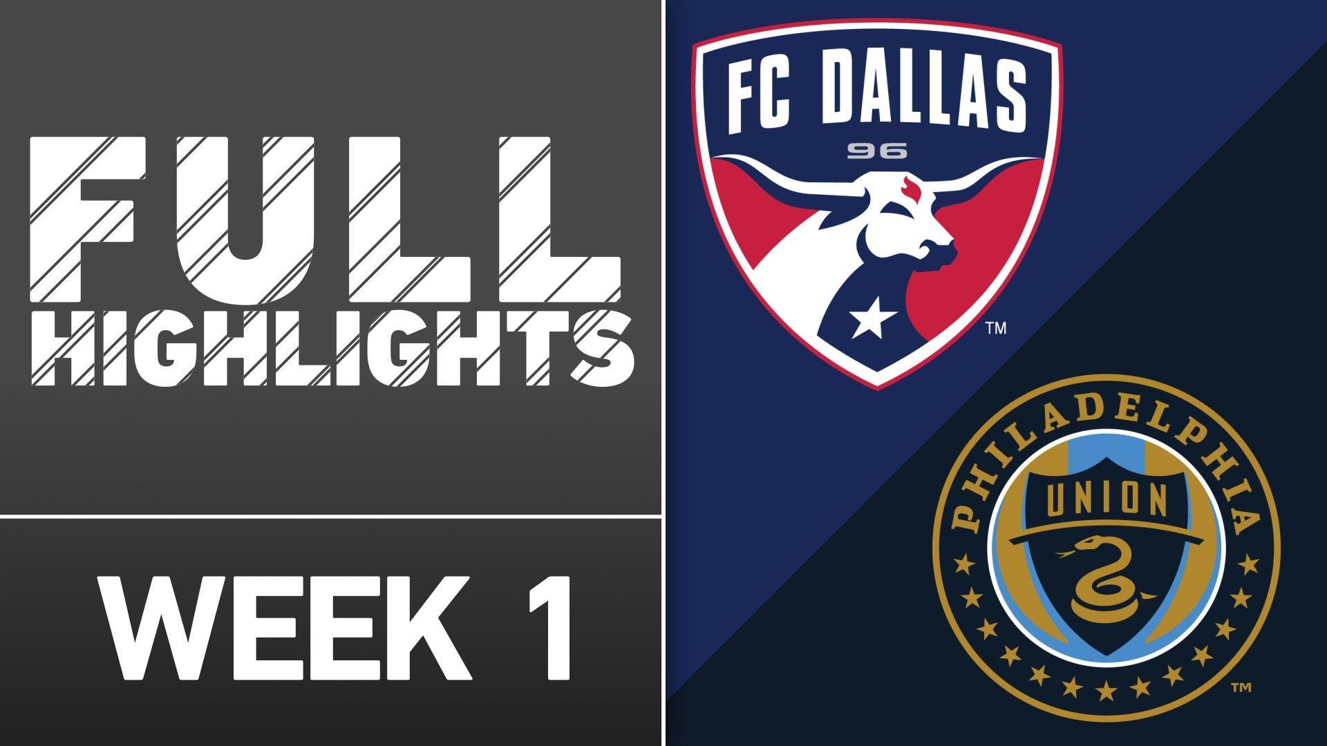 Video via MLS: Castillo, Urruti lead FC Dallas past Union - ESPN Video
