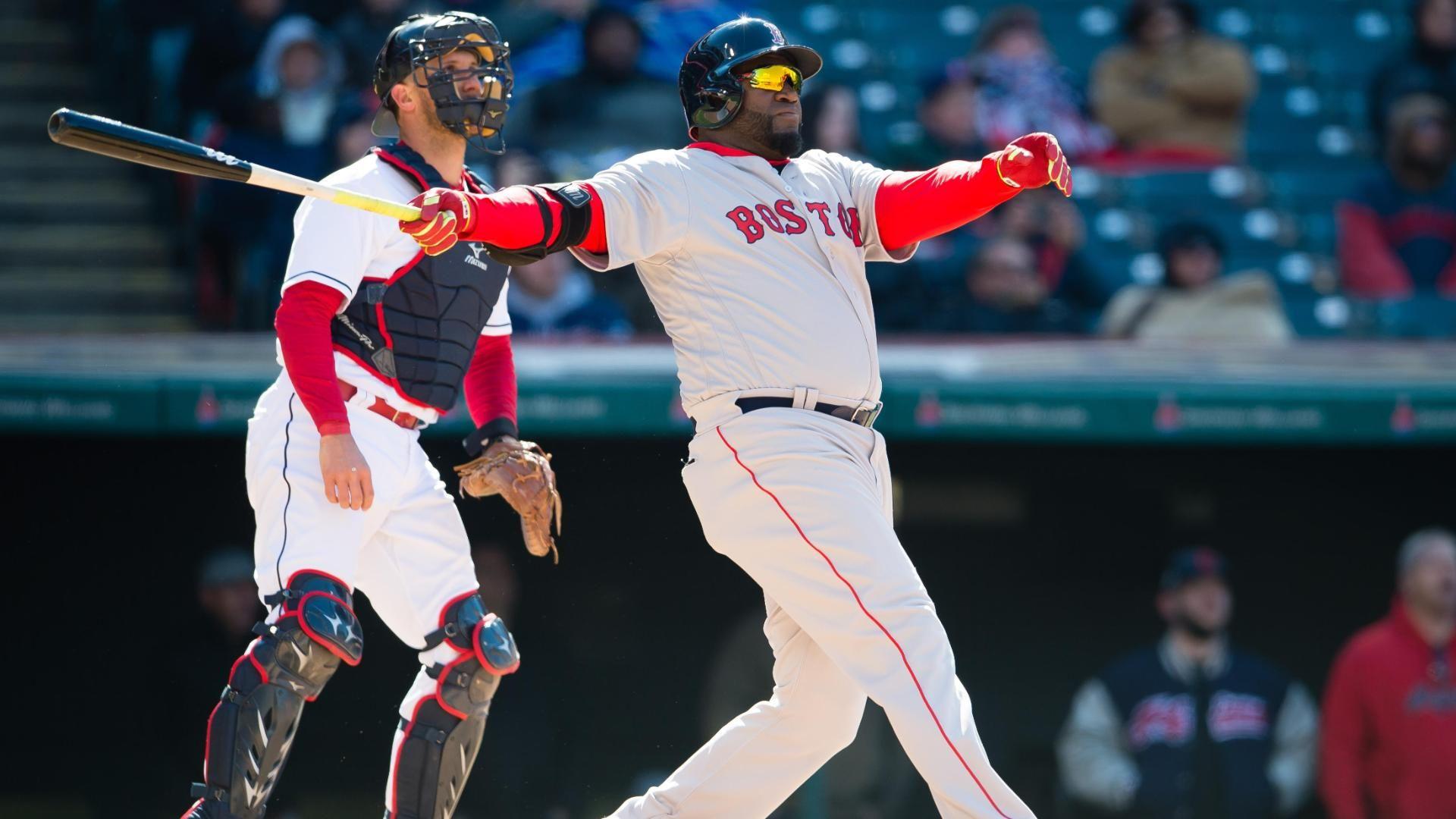 David Ortiz of Boston Red Sox hits 5th Opening Day HR