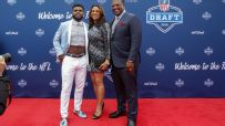 NFL prospects dressed for success