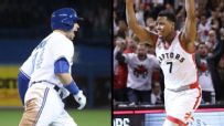 Raptors, Blue Jays electrify Toronto in one minute