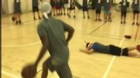 Street baller 'Bone Collector' crosses up kid out of his shoes