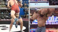 High school wrestler goes all 'John Cena' on his opponent