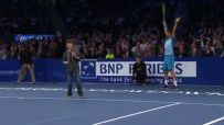 Viral Vault: Young fan challenges Federer, wins point in style