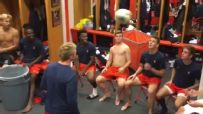 Syracuse soccer team puts on otherworldly locker room show