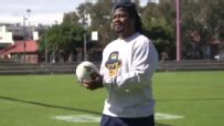 Beast Mode gives rugby a try